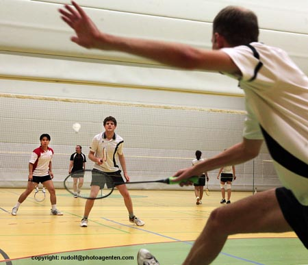 Badminton - Verbandsklasse  SG Worms vs. TV Hechtsheim