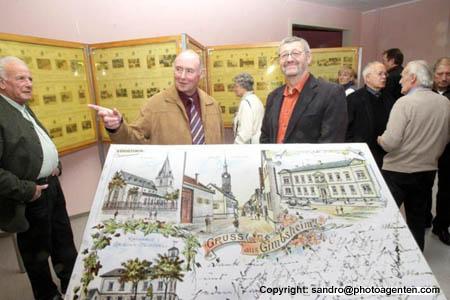 Historische Postkarten Gimbsheim